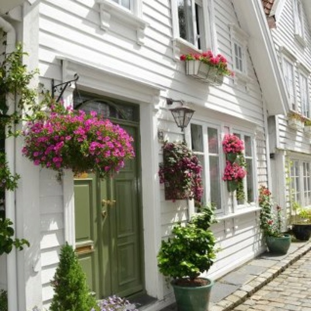 Cute front porch flowers gardening pinterest for Cute front porches