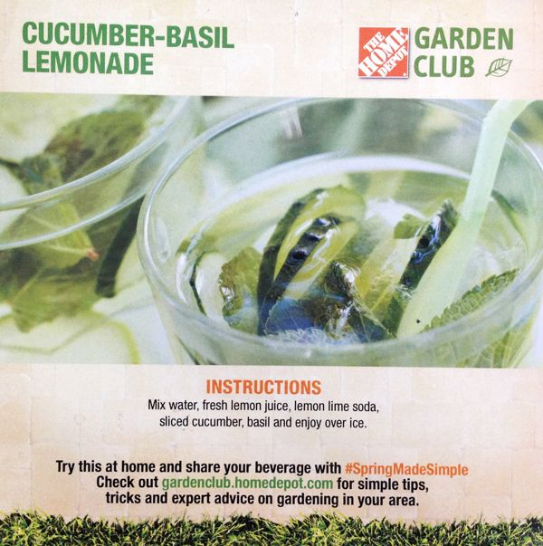 Cucumber Basil Lemonade Recipe