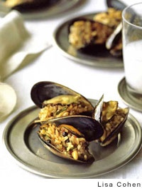 Stuffed Mussels, Istanbul Street-Style Recipe — Dishmaps