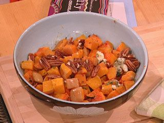 Nigella Lawson's Butternut Squash with Pecans and Blue Cheese