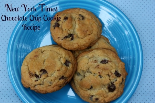 New York Times Chocolate Chip Cookies | Cookies and Bars | Pinterest