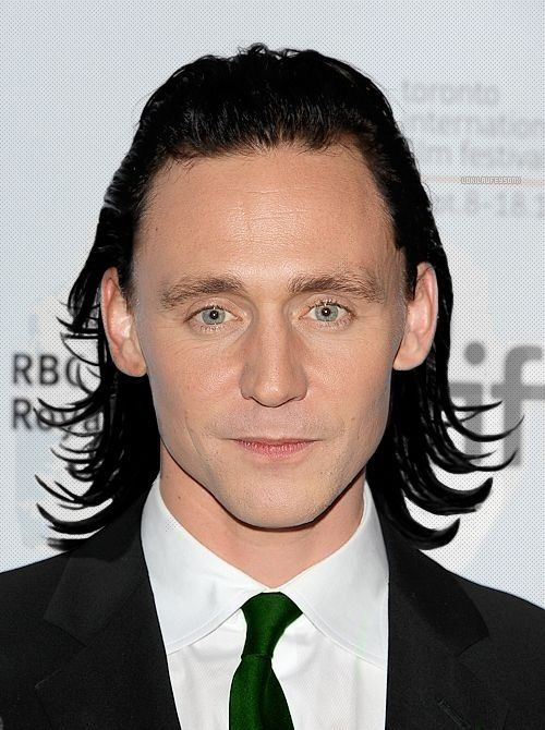 Loki Thor 2 Hair Tom Hiddleston with Lo...