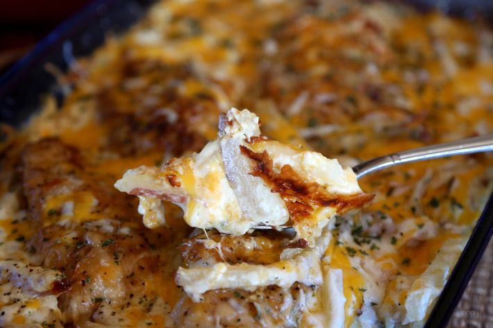 My favorite meal – Creamy Cheesy Chicken & Potatoes » Get Off Your ...