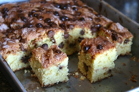 Chocolate Chip Sour Cream Coffee Cake | When I have the itch to bake ...