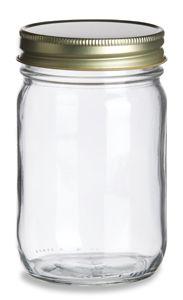 Mason jars wholesale for about $1 per bottle