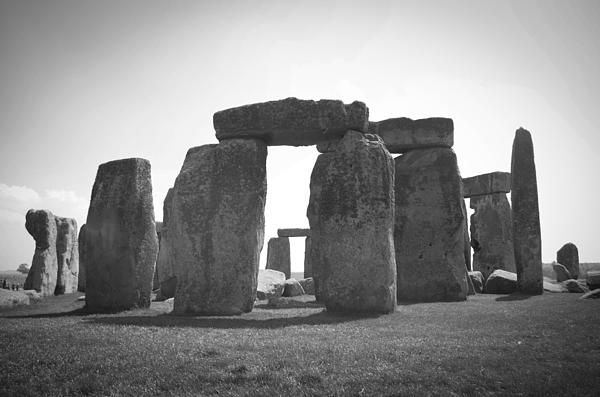 Stonehenge in Black and White Print by Sharon Popek: pinterest.com/pin/170925748332720893