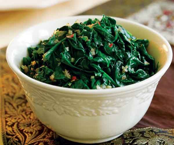 Sauteed Spinach with Shallots | Recipe