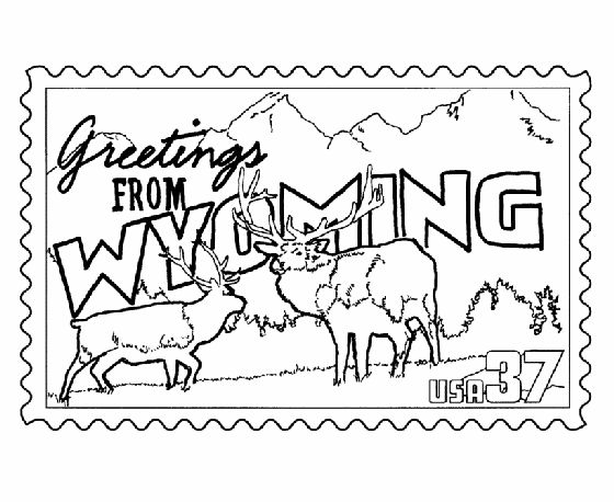 yellowstone coloring pages - photo#47
