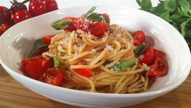 ... no cook tomato sauce recipe key ingredient pasta with no cook tomato