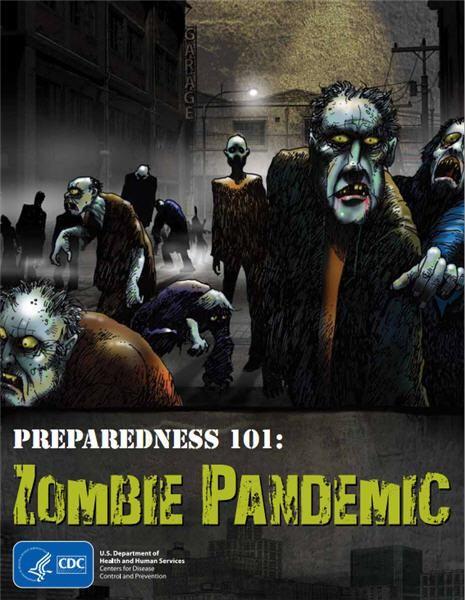 Preparedness 101 a zombie pandemic