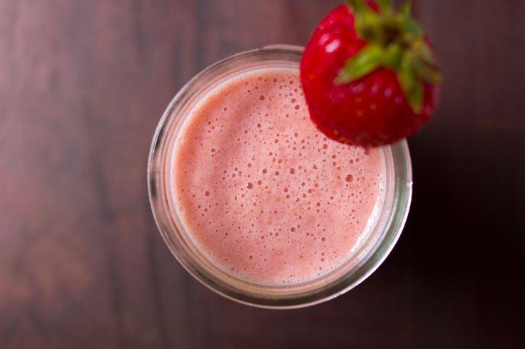 """Natural """"Artificial"""" Strawberry Milk - Luminous Vegans #vegan # ..."""