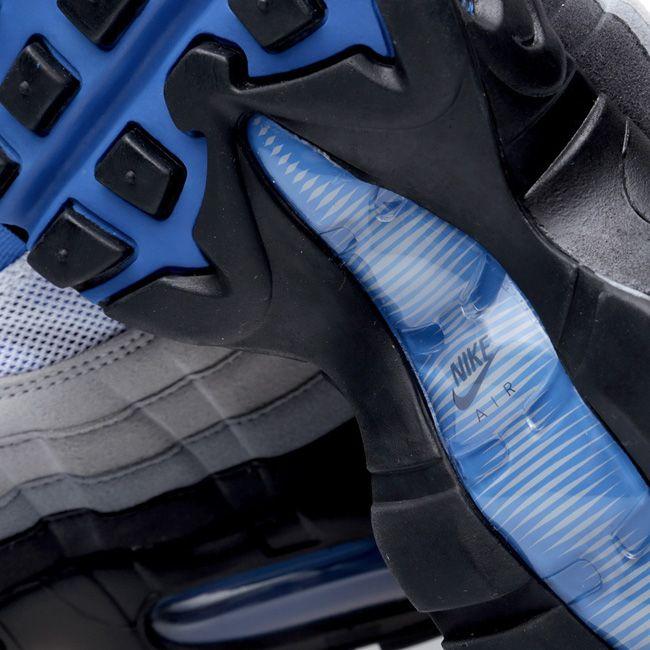 The Nike Air Max 95    Blue Spark   Nike Air Max 95 Blue Spark