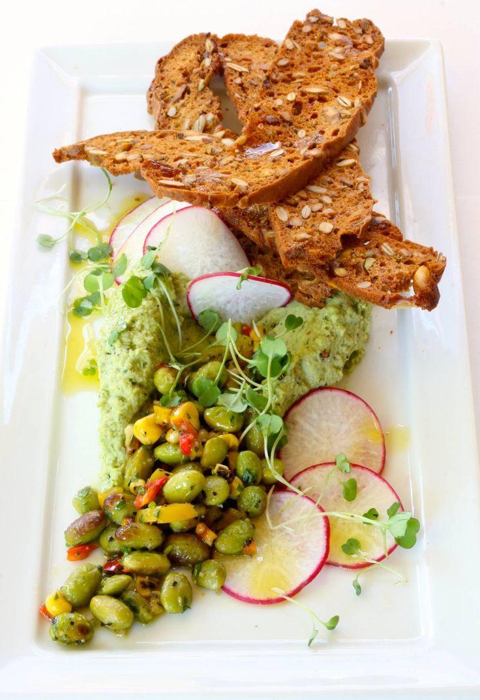 NEW SUMMER HUMMUS* Cilantro-jalapeño Edamame Hummus + Roasted ...