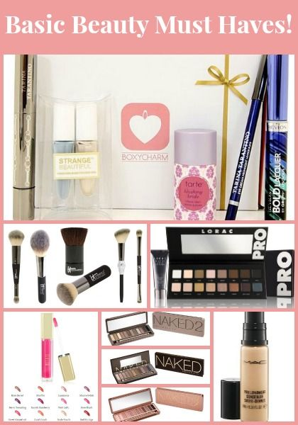 Basic Beauty Must Haves