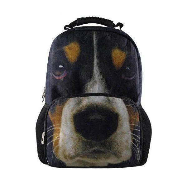3d Dog animal backpack bag school fashion travel bag mochila infantil ...