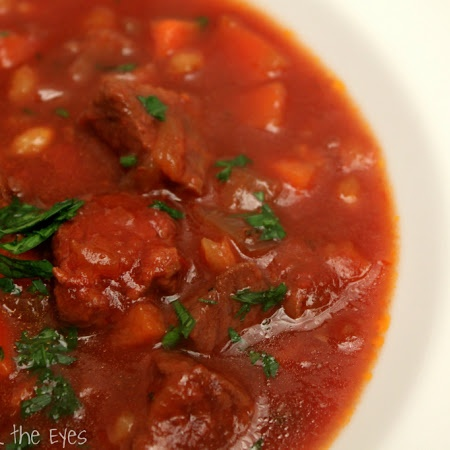 Beef and Barley Soup (Slow Cooker) | What's Cooking? | Pinterest