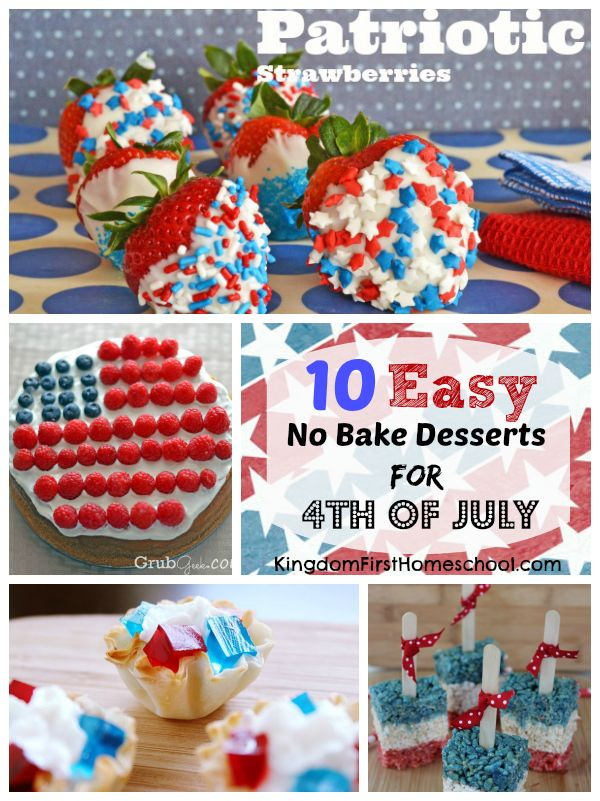 easy 4th of july recipes for a crowd