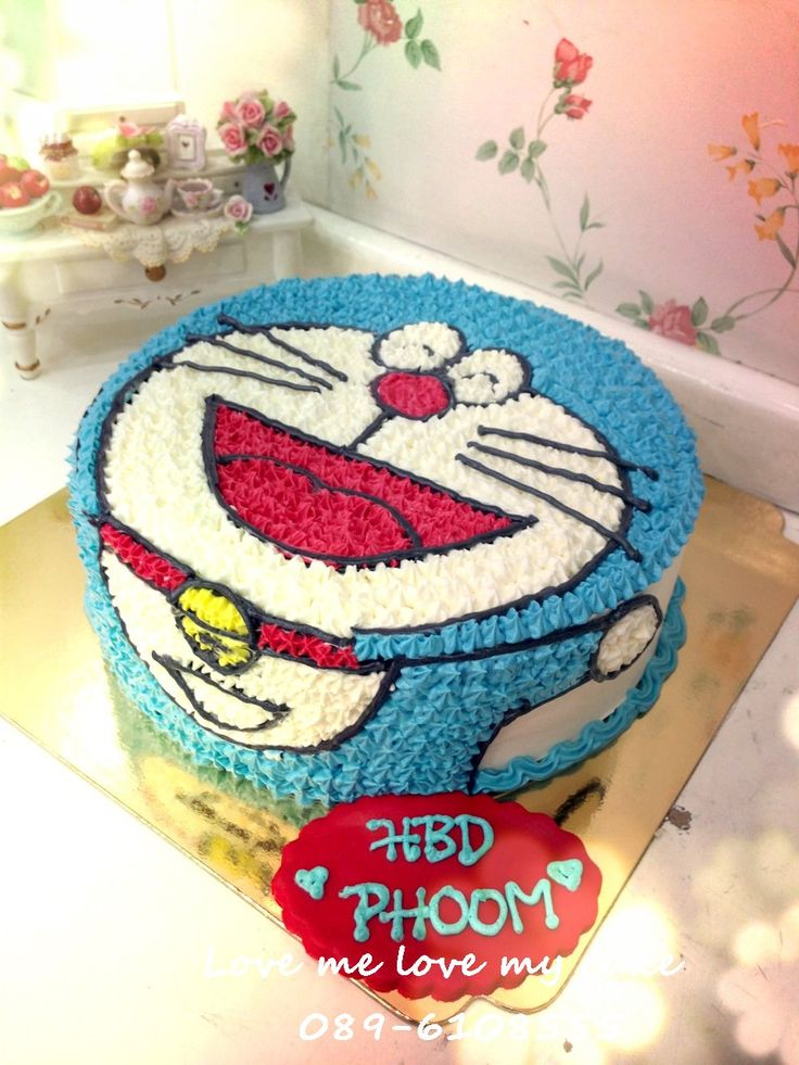Doraemon Birthday Cake Images : Doraemon cake Sukhontip Pinterest