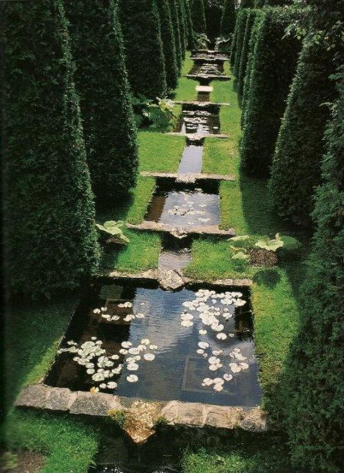 Tiered Backyard With Pool : stunning tiered pond back yard  California back yard  Pinterest