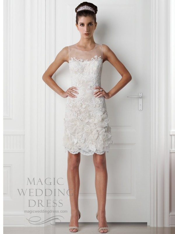 knee length fitted dress bridal dress pinterest