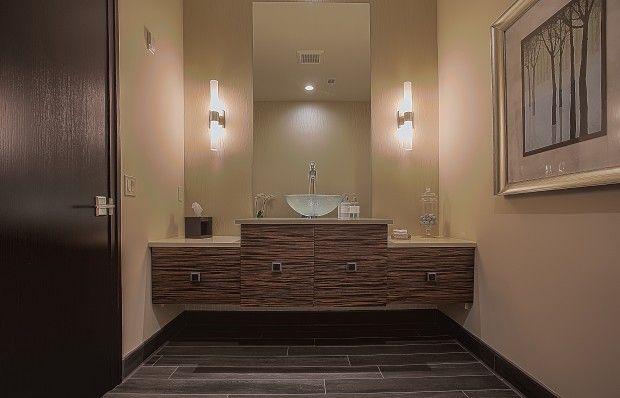 Office bathroom ashley cole design commercial spaces pinterest