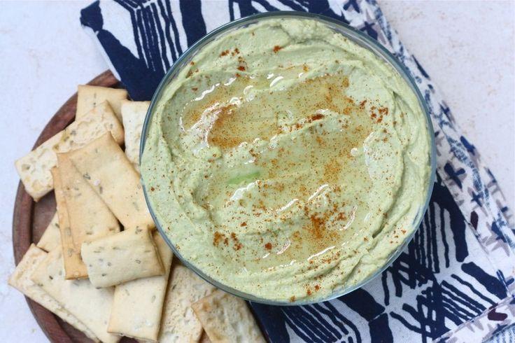 Avocado Hummus | Dips and Spreads | Pinterest
