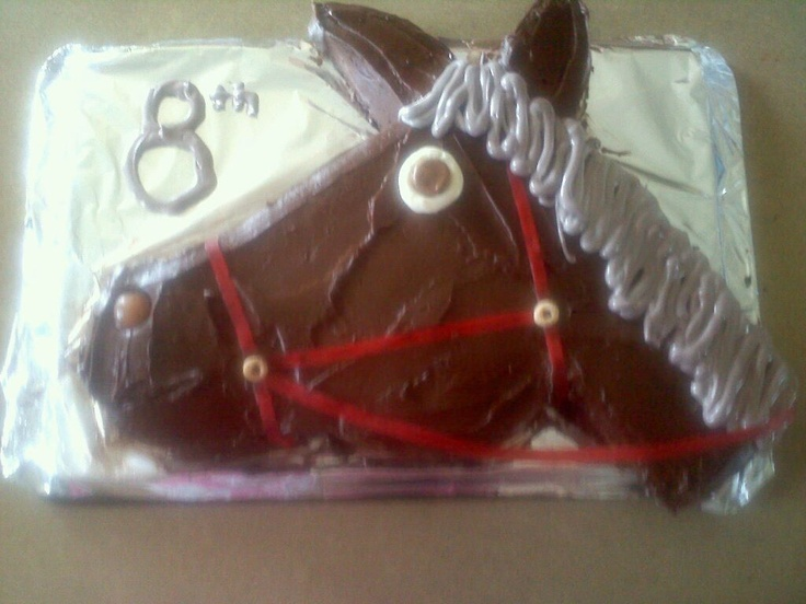 easy no bake horse birthday cake recipe