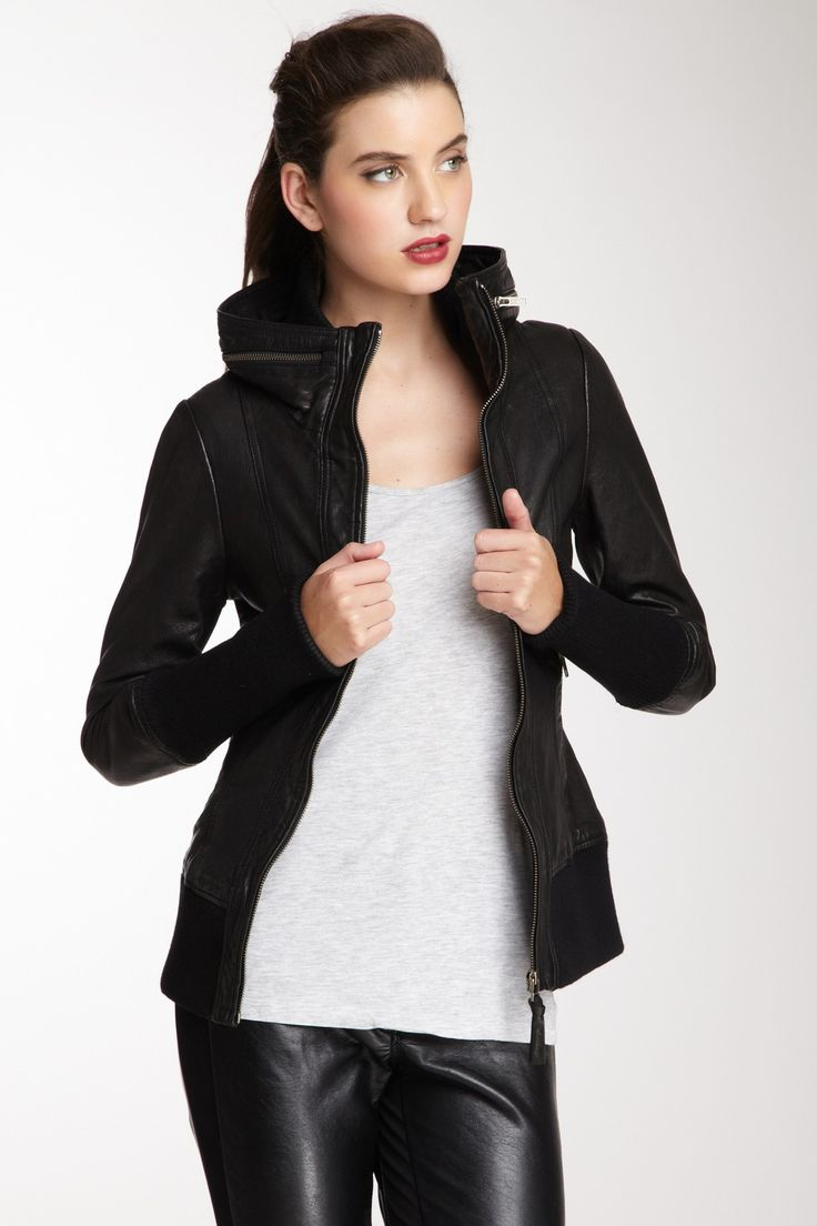 Mackage Leather Jacket on HauteLook