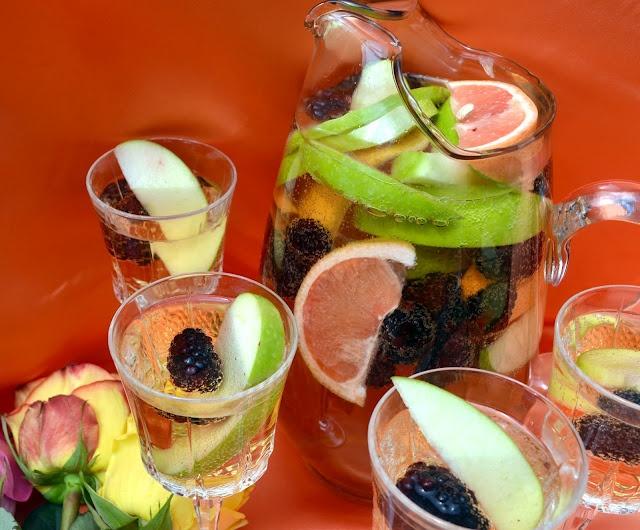 Sangria Blanca   Culinary: Beverages   Pinterest