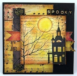 Cool Halloween card