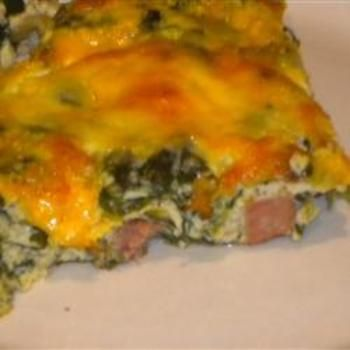 Ham and Cheese Omelet Casserole | Favorite Recipes | Pinterest