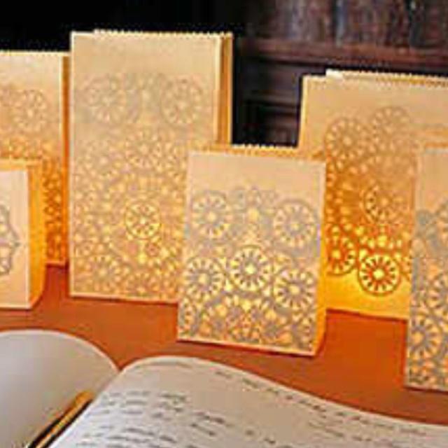 Paper Bag Luminaries