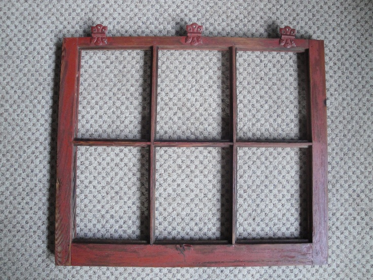 Barn window picture frame made mountain home real for Picture window