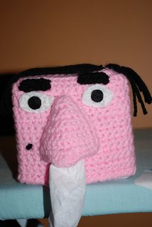 X993 Crochet Pattern : Face tissue box cover Weird Woollyness from Ravelry and ...
