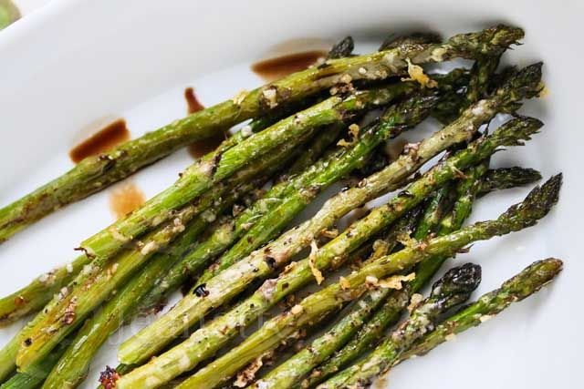 Roasted Asparagus with Parmesan Crust | Recipe