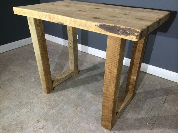 Custom Kitchen Island Bar Table With 4x4 U Shaped Wooden
