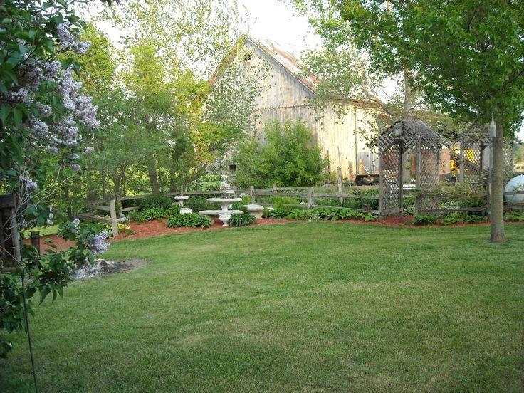 Patio Garden Landscape Ideas Pinterest