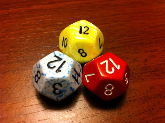 roll a 12 sided dice