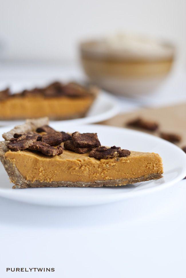Healthier cinnamon pumpkin pie | Halloween Ideas | Pinterest