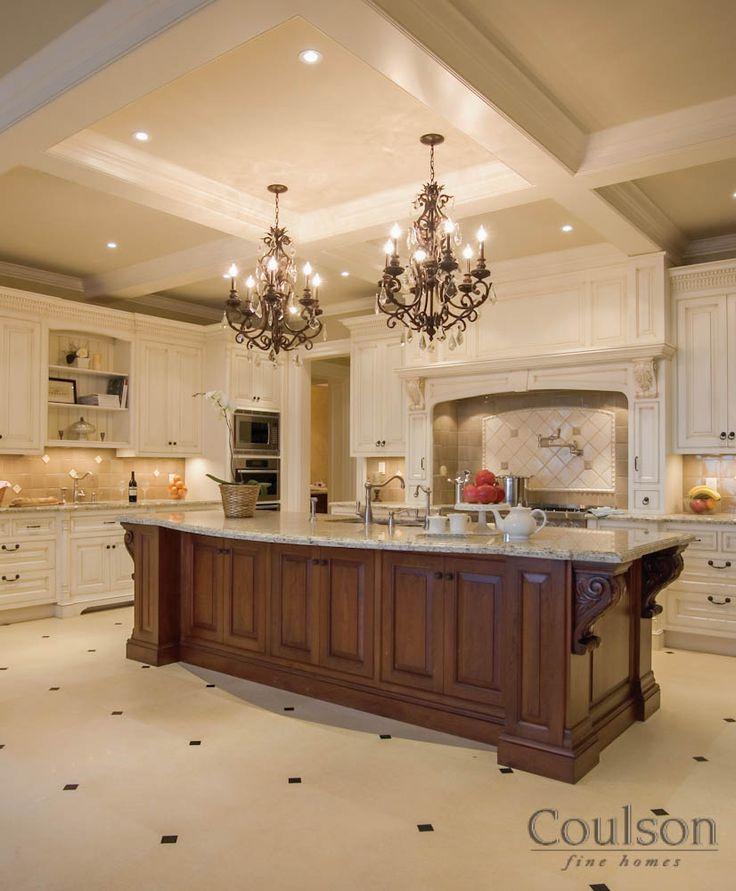 Beautiful Kitchen With Island Future Home Pinterest
