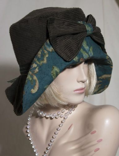 1920s vintage inspired cloche hat flapper great gatsby downton ebay