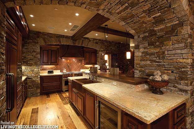 Man Cave Kitchen : Man caves can be beautiful too don t forget scotsman