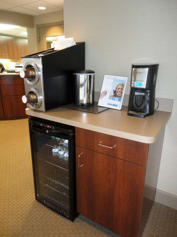 coffee station upgraded office ideas