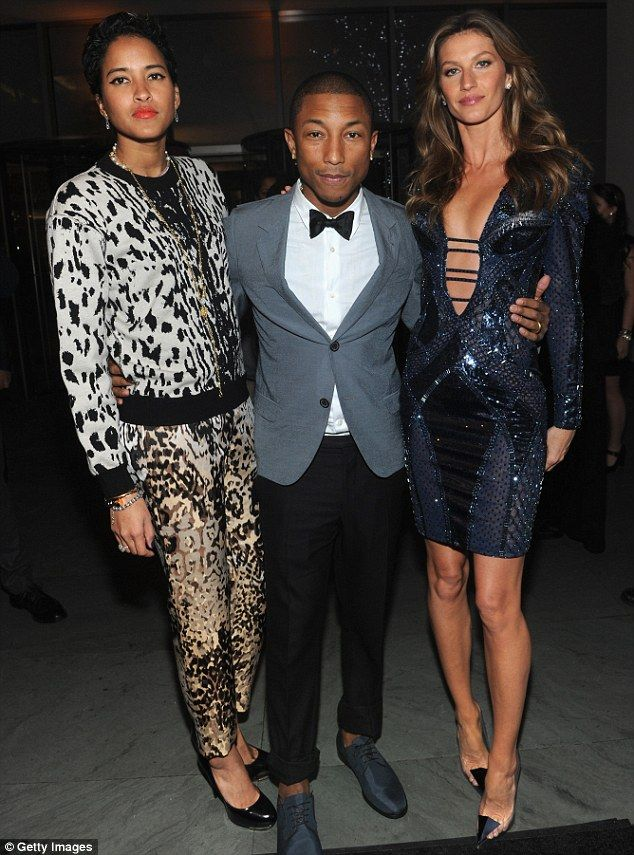 Pharrell williams and wife 2013