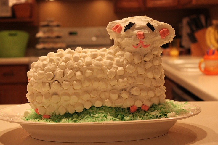 More like this: lamb cake , pound cakes and the face .