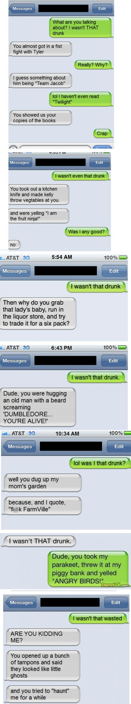 13 best I wasnt that drunk texts images on Pinterest