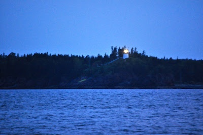 Maine Lighthouses and Beyond: The Owl's Head Lighthouse From The Water
