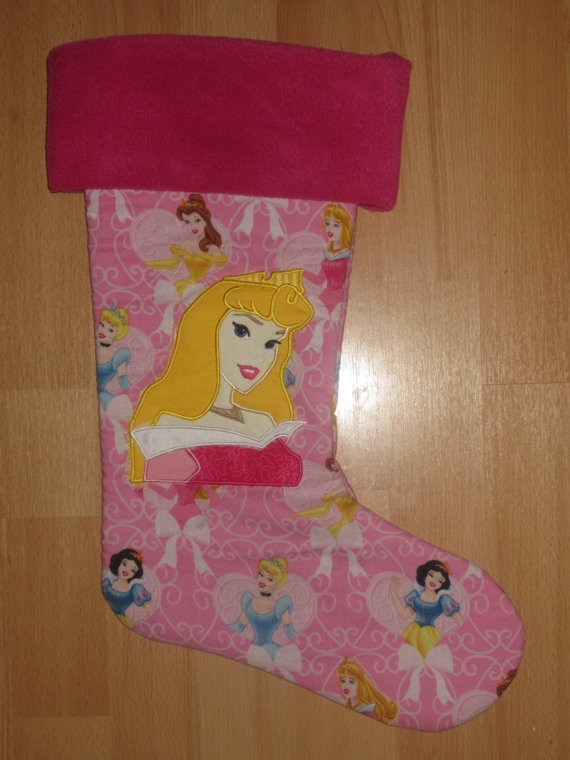 Disney princess stocking christmas pinterest