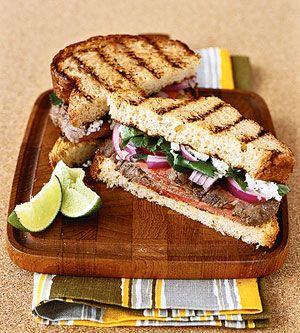 Jalapeno Steak Sandwiches | Thorough-Bread | Pinterest