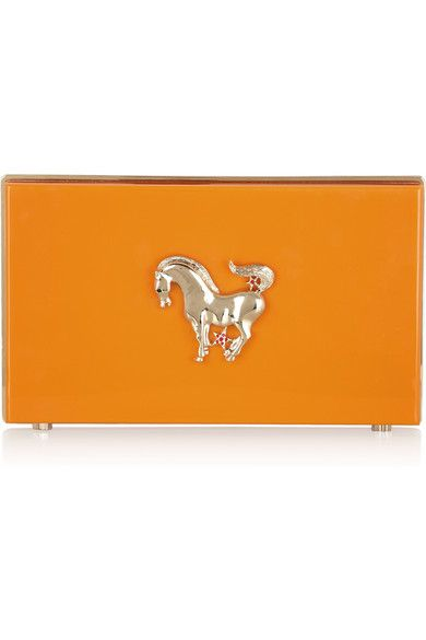 Shop now: Charlotte Olympia Year of the Horse Clutch